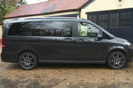 Mercedes-Benz V Class Diesel Estate V220 d AMG Line 5dr 9G-Tronic [Extra Long]