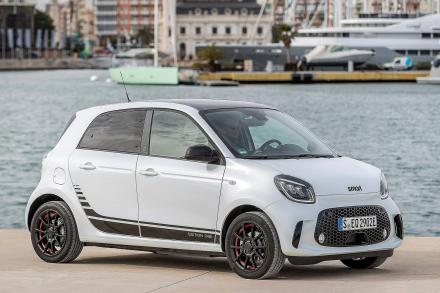Smart Forfour Electric Hatchback 60kW EQ Exclusive 17kWh 5dr Auto [22kWch]